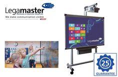 Legamaster ofrece 25 años de garantía en sus pizarras digitales