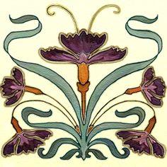 Nouveau Art Tile
