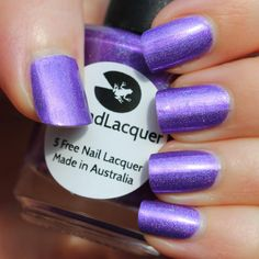 Lilypad Lacquer Purple People Eater