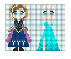 Hama beads plantillas gratis de princesas   Actividades para niños   Mismocosos.com