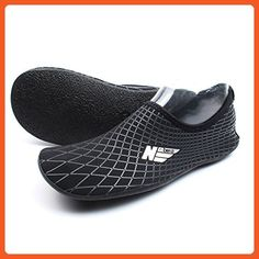 fc7a8e504ed2 Multipurpose Water Skin Shoes Adult Kids Slip On Aqua Barefoot Beach Aqua  Socks Surf Pool Durable Outsole    You can find more details by visiting  the image ...