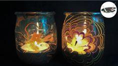 Jak zrobić bajeczne lampiony lakierem do paznokci - Pomysły plastyczne d...