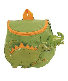 Take a look at this Green Dinosaur Backpack by Kidorable on #zulily today!