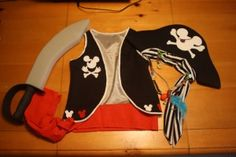 Homemade Halloween Costumes for Kids: Mickey Mouse Pirate