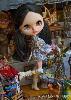 The Season For Love. 70's Mini Dress Long by SugarMountainArt