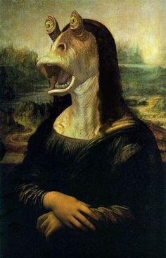 The real Mona Lisa!  aaaauuugh!   told ya so!     hee hee!