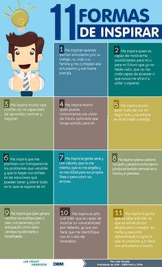 11 formas de inspirar.