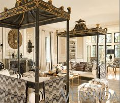 oh my.........that Michelle Nussbaumer is so very talented.  Those Asian beds are jaw dropping.