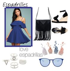 """#espadrillas"" by aylin20 ❤ liked on Polyvore featuring Alexander McQueen, LULUS, WithChic, Charlotte Russe and Ray-Ban"