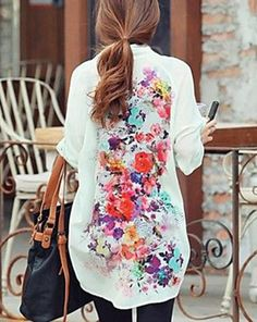 Floral Top - so cute!
