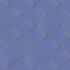 4 1/4 x 4 3/8 Santa Barbara Andaluz - Lapis Lazuli Matte