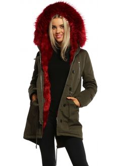 Black Faux Fur Collar Belted Quilted Coat | kabátok | Pinterest ...