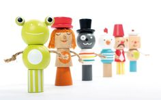 WOODEN TOYS DESIGN by MARCHAL Nicolas, via Behance