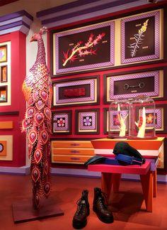 Zim & Zou's Paper Made Windows for Hermès Maison Shanghai — KNSTRCT - Carefully Curated Design News