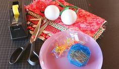 Proyecto: bolas de Navidad con esferas de poliestireno expandiodo