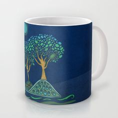 Once upon a time... Mug by Viviana González - $16.00