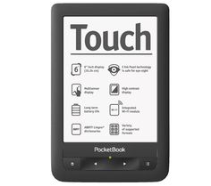 PocketBook Touch E-book Reader - black High Contrast, Ipad Mini, Touch, Ink, Book Reader, Dessert Ideas, Mothers, Pearl, Black