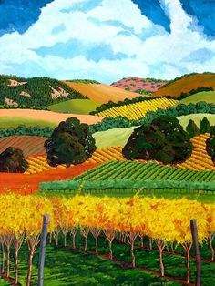 Gene Brown, a native of Oregon, received his Bachelor& degree in Advertising Art at the California College of Arts and Crafts in . Landscape Quilts, Abstract Landscape, Landscape Paintings, California College Of Arts, Acrylic Artwork, Brown Art, Southwest Art, Naive Art, Artist Art