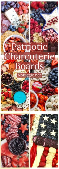 Memorial Day and of July are not complete without a Patriotic themed charcuterie board that everyone will enjoy. 4th Of July Desserts, Fourth Of July Food, 4th Of July Celebration, 4th Of July Party, July 4th, Patriotic Party, Charcuterie Recipes, Charcuterie Platter, Charcuterie And Cheese Board
