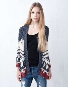 Pull France - FEMME - MAILLE Maille Torse, Taille, Ouvert, Veste, Cardigan     1f602b97ff32