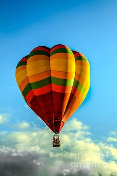 Beautiful Balloon: See more images at http://robert-bales.artistwebsites.com/