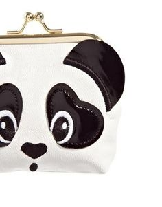 Panda Cliptop Purse:
