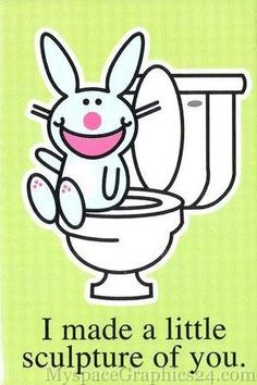 Lol I remember when happy bunny was popular!
