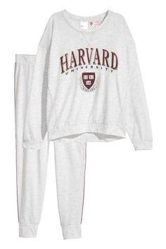 Пижама - Светло-серый - Женщины | H&M RU 1