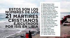El Patriarca de la Iglesia Copta Ortodoxa, Teodoro II, anunció que los nombres de los 21 cristianos egipcios decapitados en Libia por el Estado Islámico (ISIS), serán incluidos en el Sinaxario, el equivalente oriental del martirologio romano.