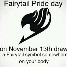 I'm a proud FAIRY TAIL Member!!