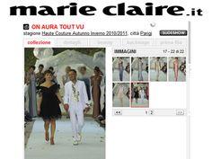 Mari Claire 2010 Fashion Show couture by on aura tout vu. Haute Couture Fashion Week Paris