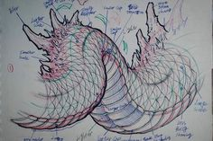 Drawing Animals Ideas Like a building needs a strong foundation, drawing a dragon requires understanding of the structure. After that you can develop your own style.dragon tutorial from the up coming - Manga Drawing, Drawing Sketches, Animal Drawings, Art Drawings, Drawing Animals, Dragons, Character Art, Character Design, Dragon Sketch