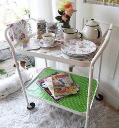 another tea trolley up - do