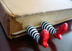 ruby slippers bookmark