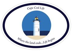 Stick it to your car, boat, water bottle, or backpack to show you share Cape Cod Life's love of the Cape & Islands.   Dimensions: 4″x6″