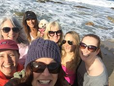Me and Merry Poodle... the luckiest girls at the party! January 2016 Writer's Retreat #bookmama