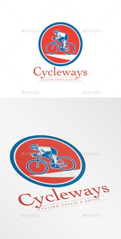 Cycleways Cycling Repairs Logo — Vector EPS #sport #artwork • Available here → https://graphicriver.net/item/cycleways-cycling-repairs-logo/10730146?ref=pxcr