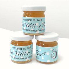 Honey Jar Labels Template Inspirational the Honey Jar S Baby Shower Labels Customer Creations Honey Jar Labels, Canning Jar Labels, Drink Labels, Food Labels, Baby Shower Labels, Baby Shower Favors, Baby Shower Themes, Shower Ideas, Food Label Template
