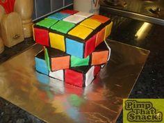 The Rubik Cake!