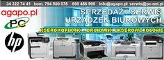 Częstochowa sprzedaż kserokopiarek, drukarek laserowych, urządzeń wielofunkcyjnych. Sklep internetowy HP Hewlett-Packard.