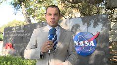 Fabio Borges faz reportagem na NASA