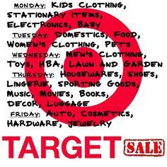 Target sale's
