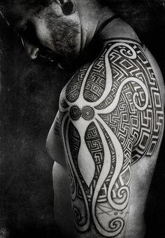 patterns tattoo - 40 Intricate Geometric Tattoo Ideas   Art and Design
