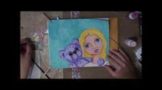 Video: Catching Stars by Anne Cahill - Lulu Art Design Team - www.luluart.com.au