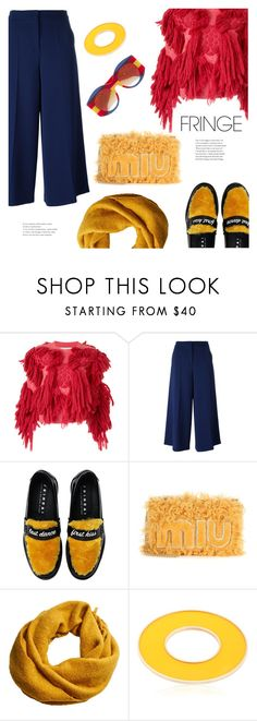 """Add a sense of playfulness."" by gabrielleleroy ❤ liked on Polyvore featuring writtenafterwards, Boutique Moschino, Joshua's, Miu Miu, MANGO, Sylvio Giardina and Gucci"