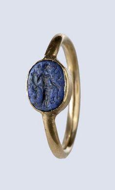 Roman Gold Ring - 1st century A.D.