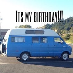 It's my birthday!  I'm 39. Most of the time when I tell people my age they say you don't look however old I am at the time. My normal response is ... I know right and then I throw in the fact that I have a 23 y/o son. Dye your hair blue and move into a van it takes 10 years off your age. Really it's just good genes. Its also my 2 year anniversary of having my van. I started purchasing the van in August but paid the final amount and drove it home on 9/13/14.  I road the train from Edmonds WA…