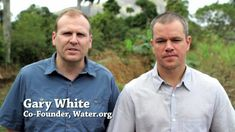 Matt Damon and Water.org Ask For Your Help