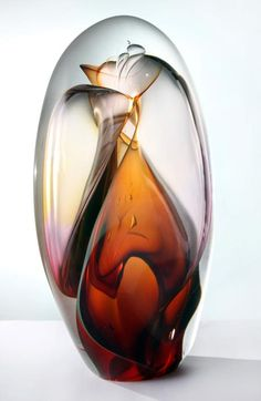 """transparent vortex pod""~Phil Vickery Glass"