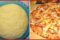 Klasszikus olasz pizzatészta, amit akár le is lehet fagyasztani! Diabetic Recipes, Diet Recipes, Cracked Cookies, Good Food, Yummy Food, G 1, Pizza Recipes, Street Food, Jamie Oliver